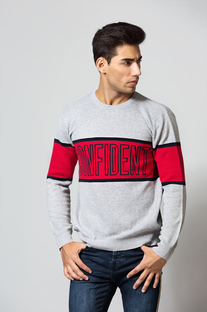 "Two Tone ""Confident"" Sweatshirt"