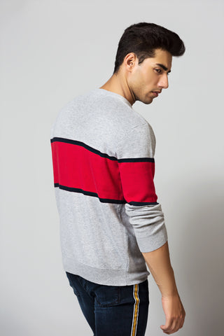Relaxed Fit Crew Neck SWEATER