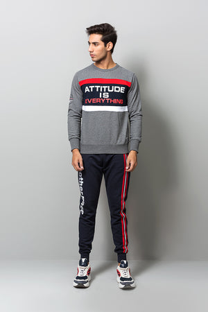 Attitude is Everything' Statement Sweatshirt