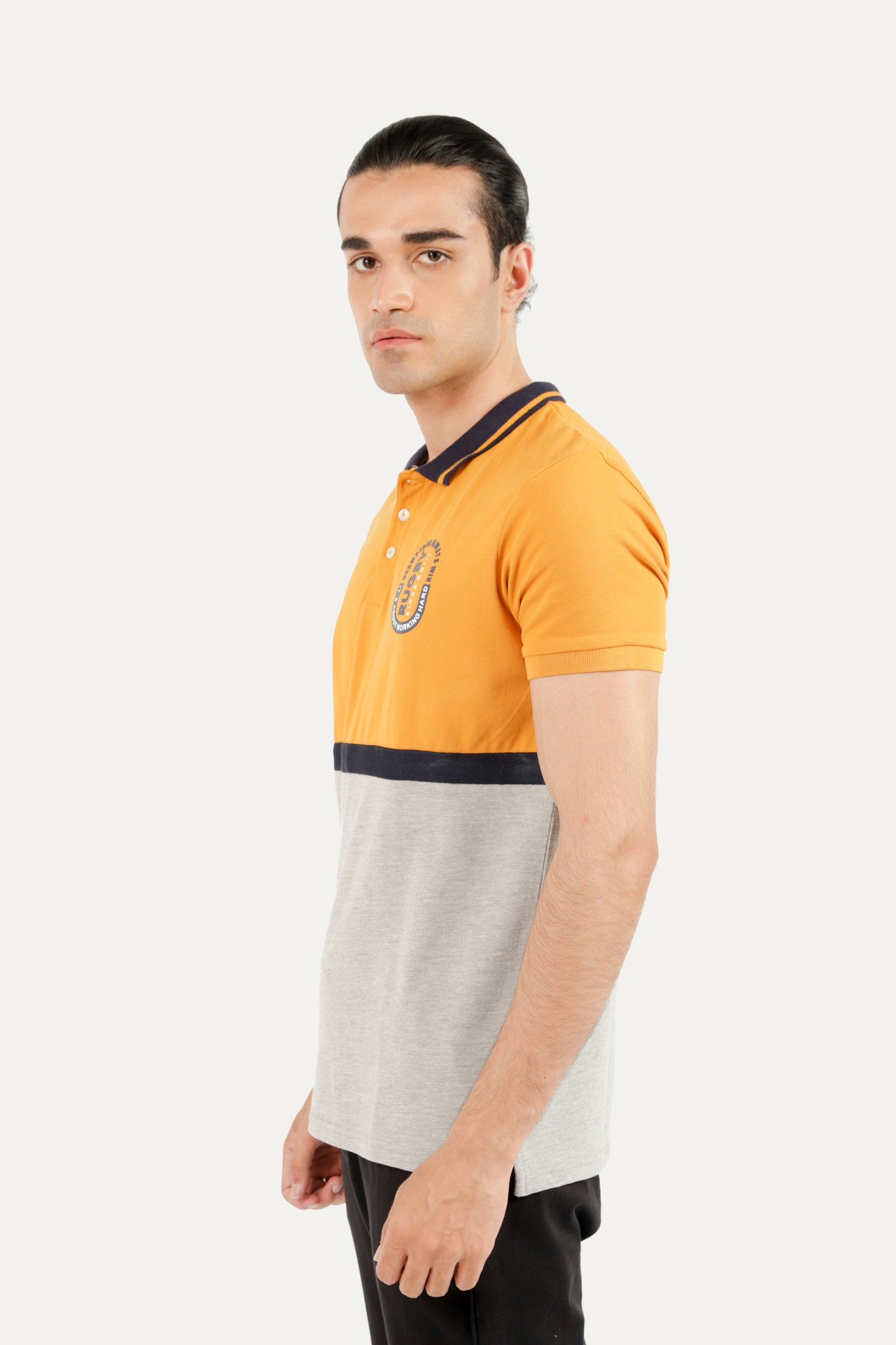 Outfitters Graphic Polo Shirt