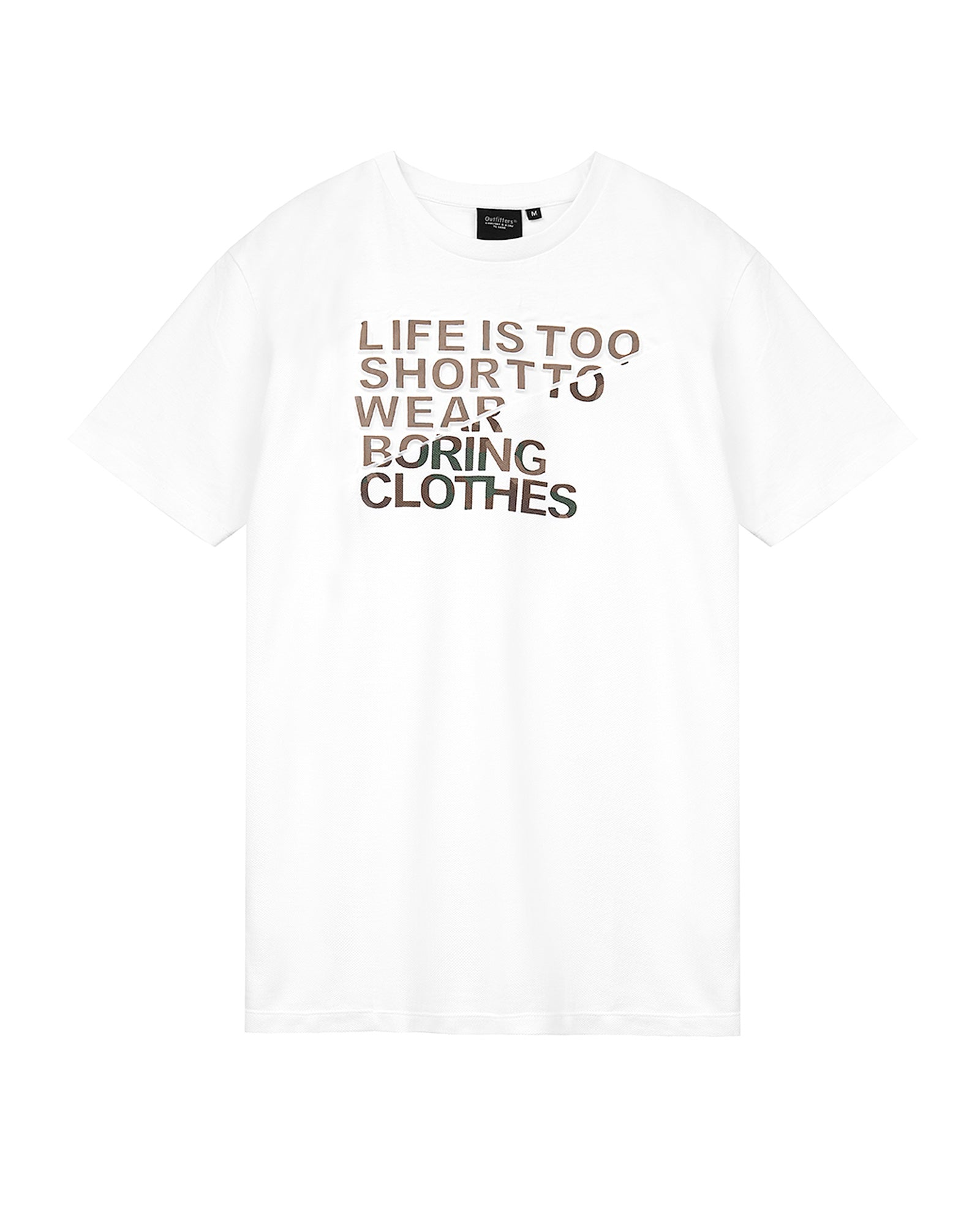 Motivational Slogan Tee