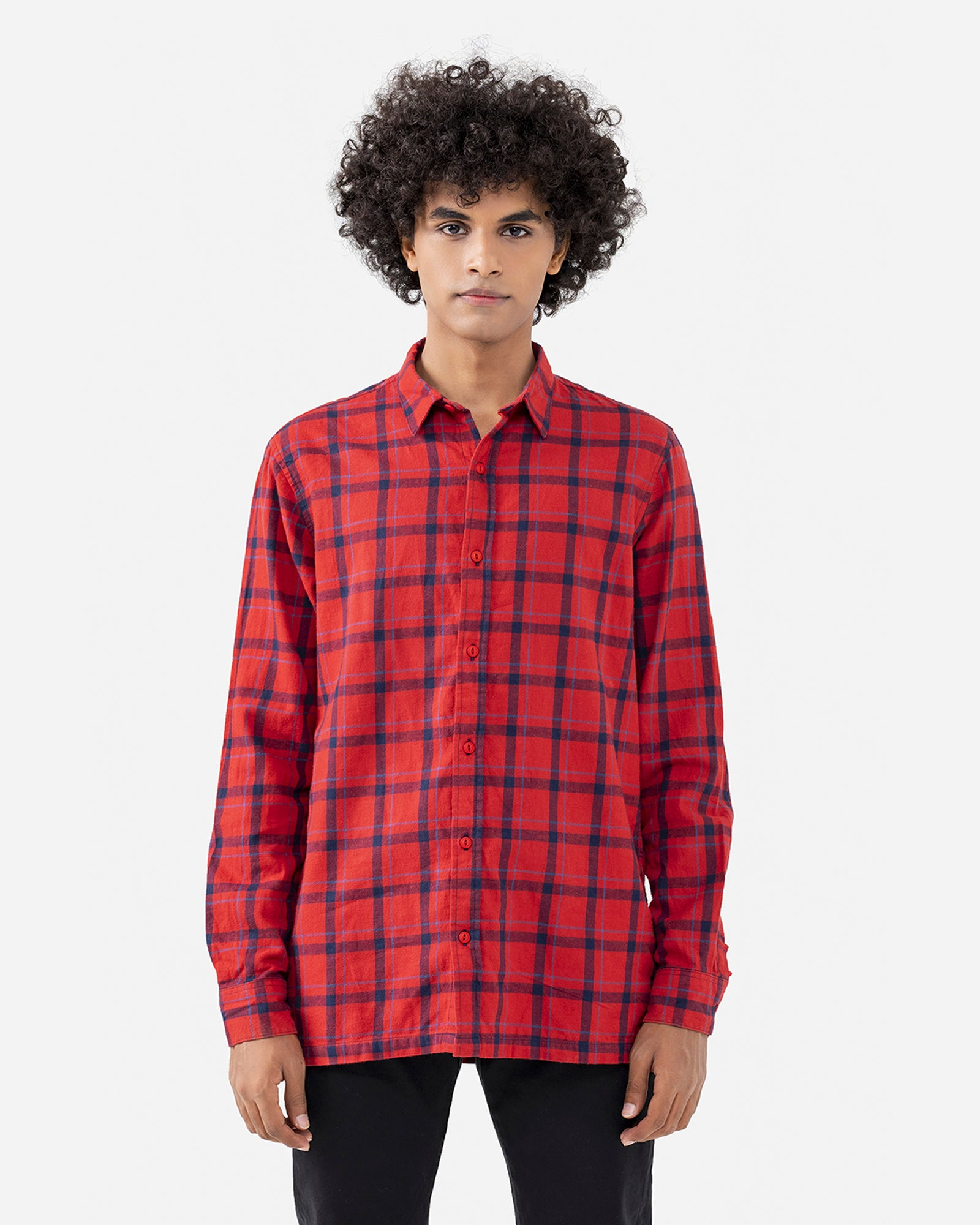 Flannel Checkered Shirt