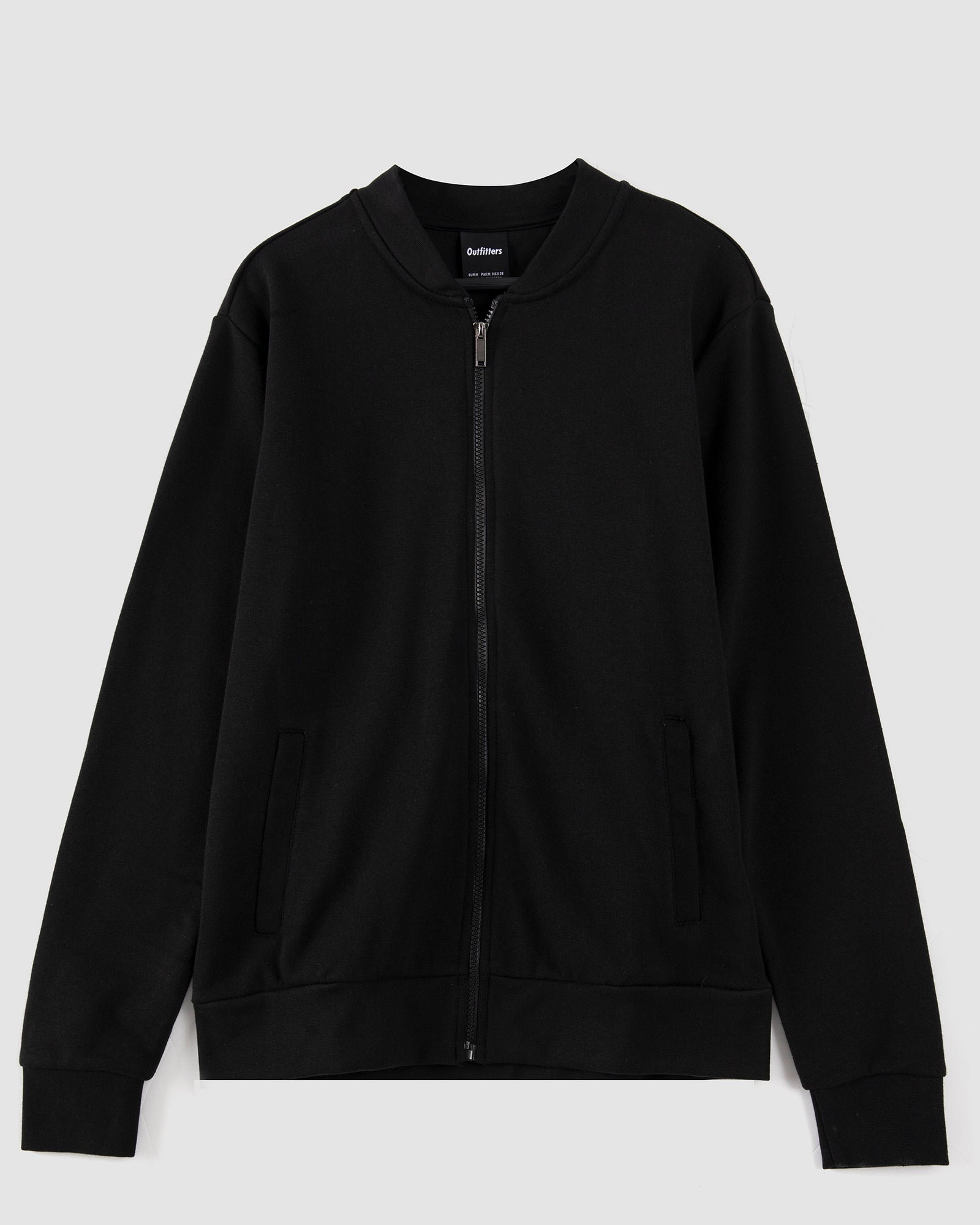 Zipper Bomber Sweatshirt