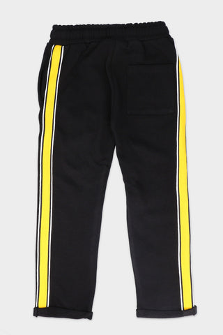 Tapered Black Jogger Pant