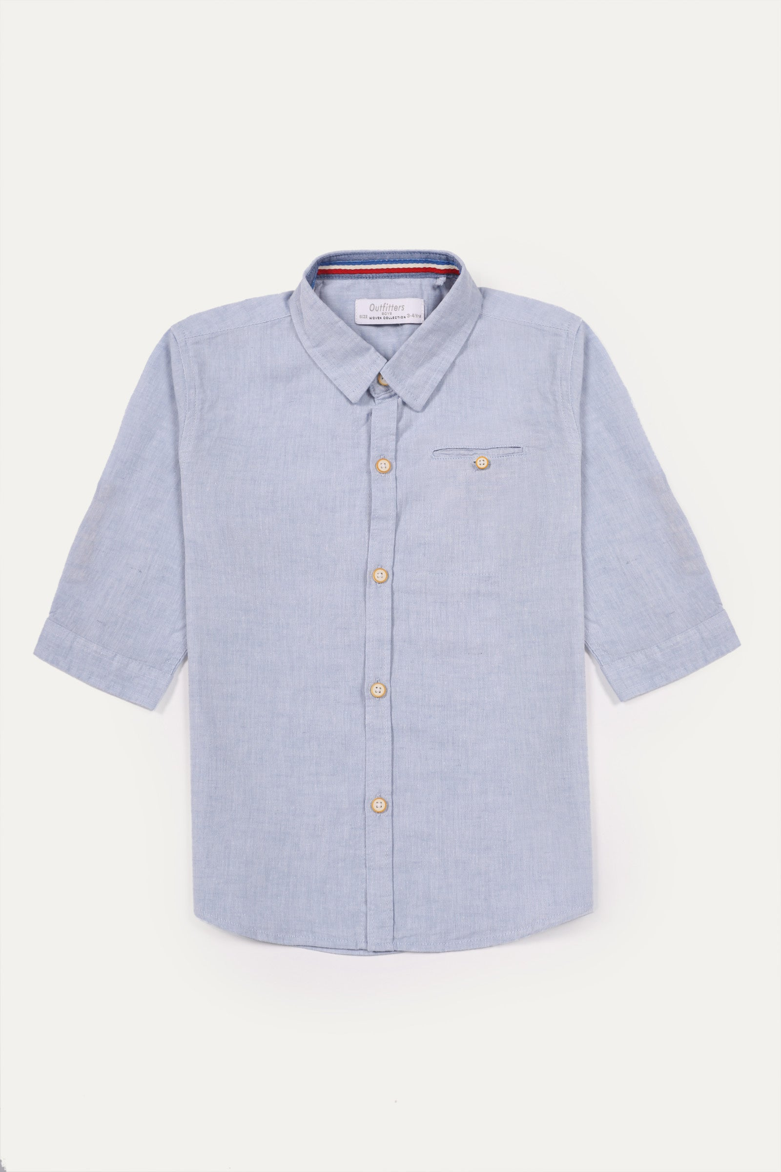 Buttoned Pocket Shirt