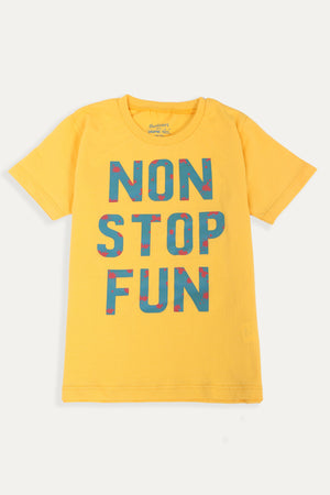 Non Stop Fun' T-shirt