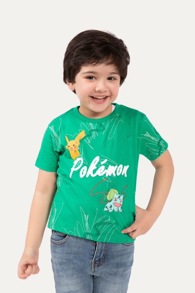 Pokemon' Graphic T-shirt