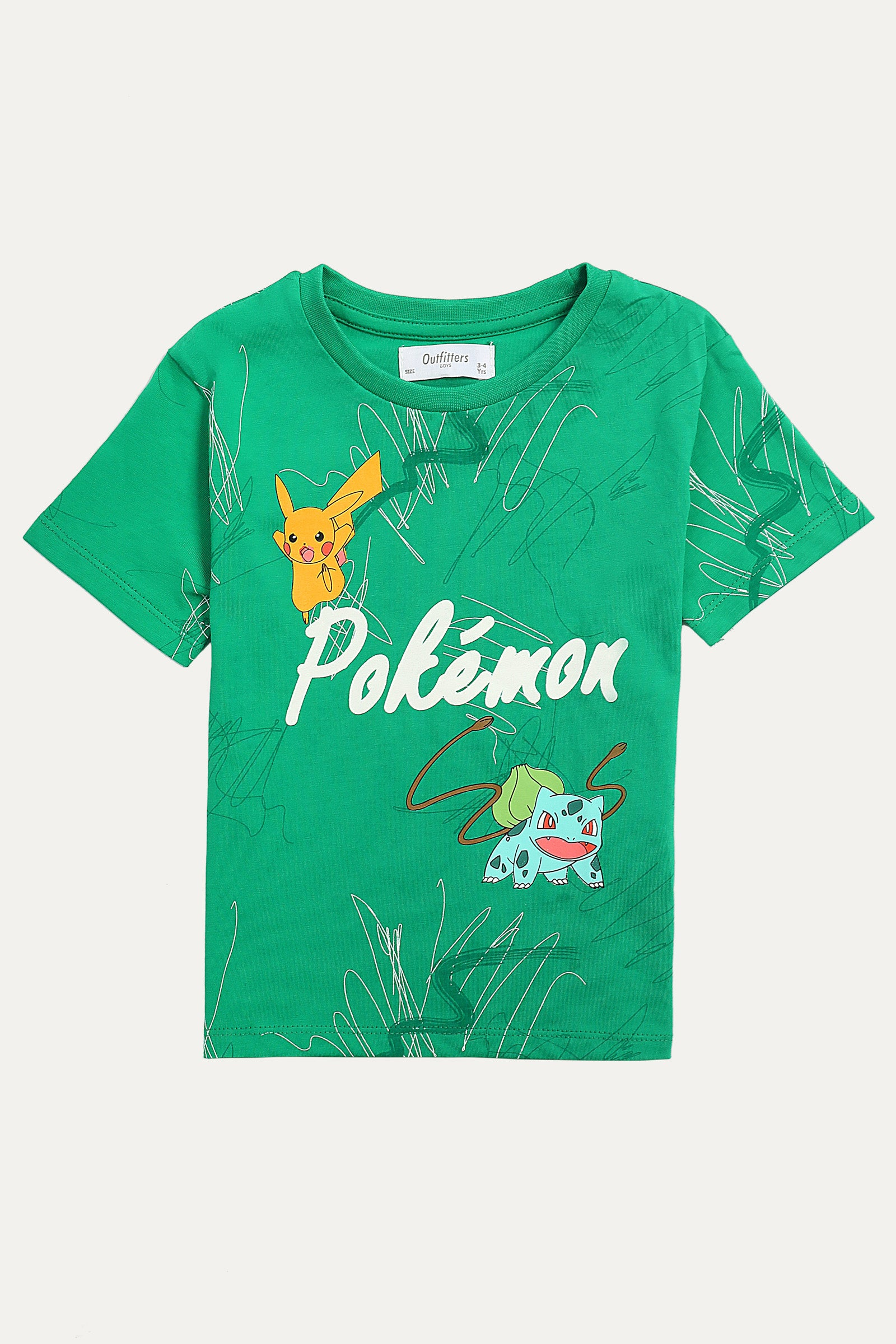 Pokemon' Printed T-Shirt