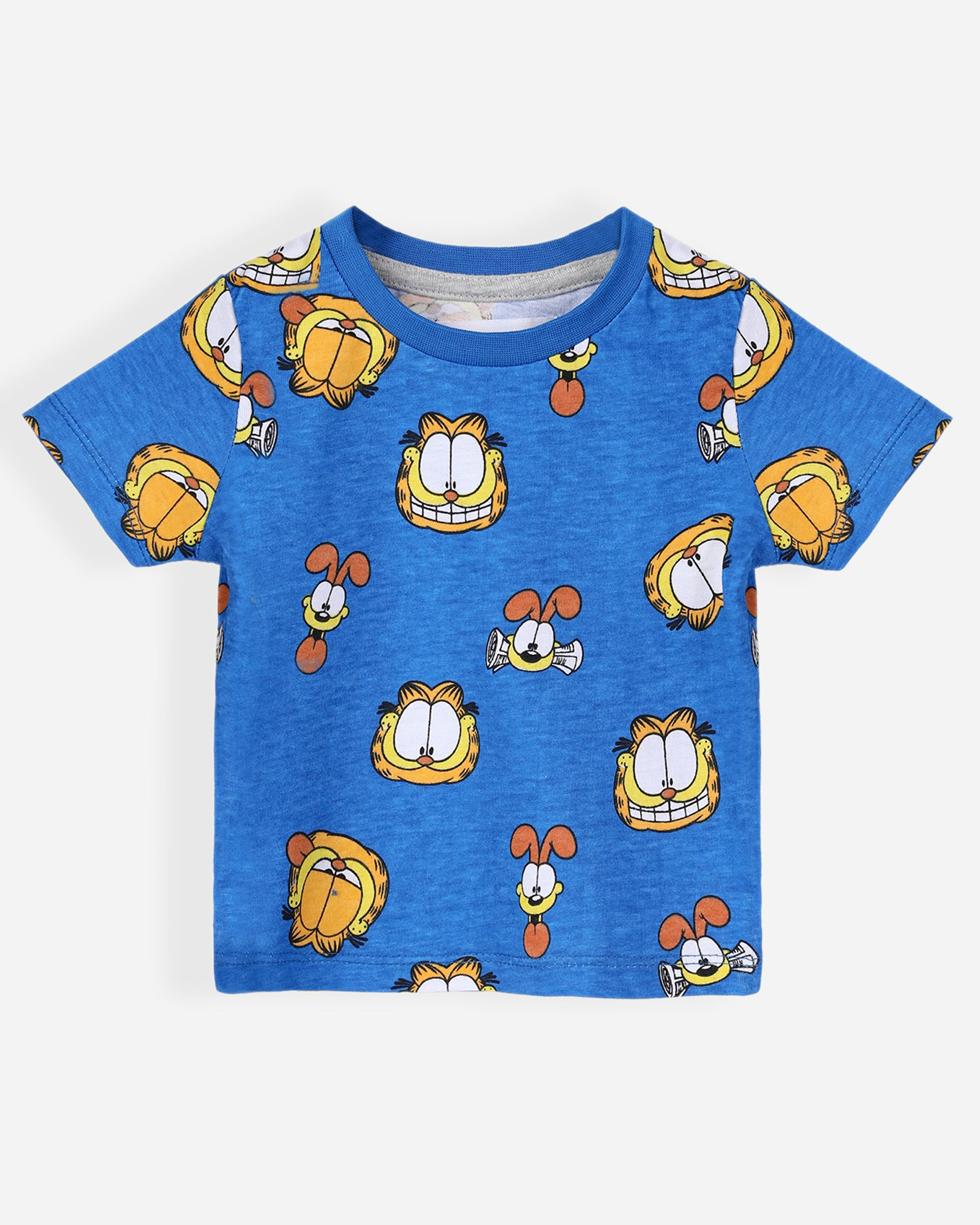 Garfield Tee with Shorts