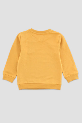 Tiger Sweatshirt Ochre Yellow