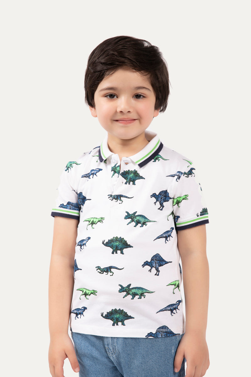 Dinosaur' Graphic T-shirt
