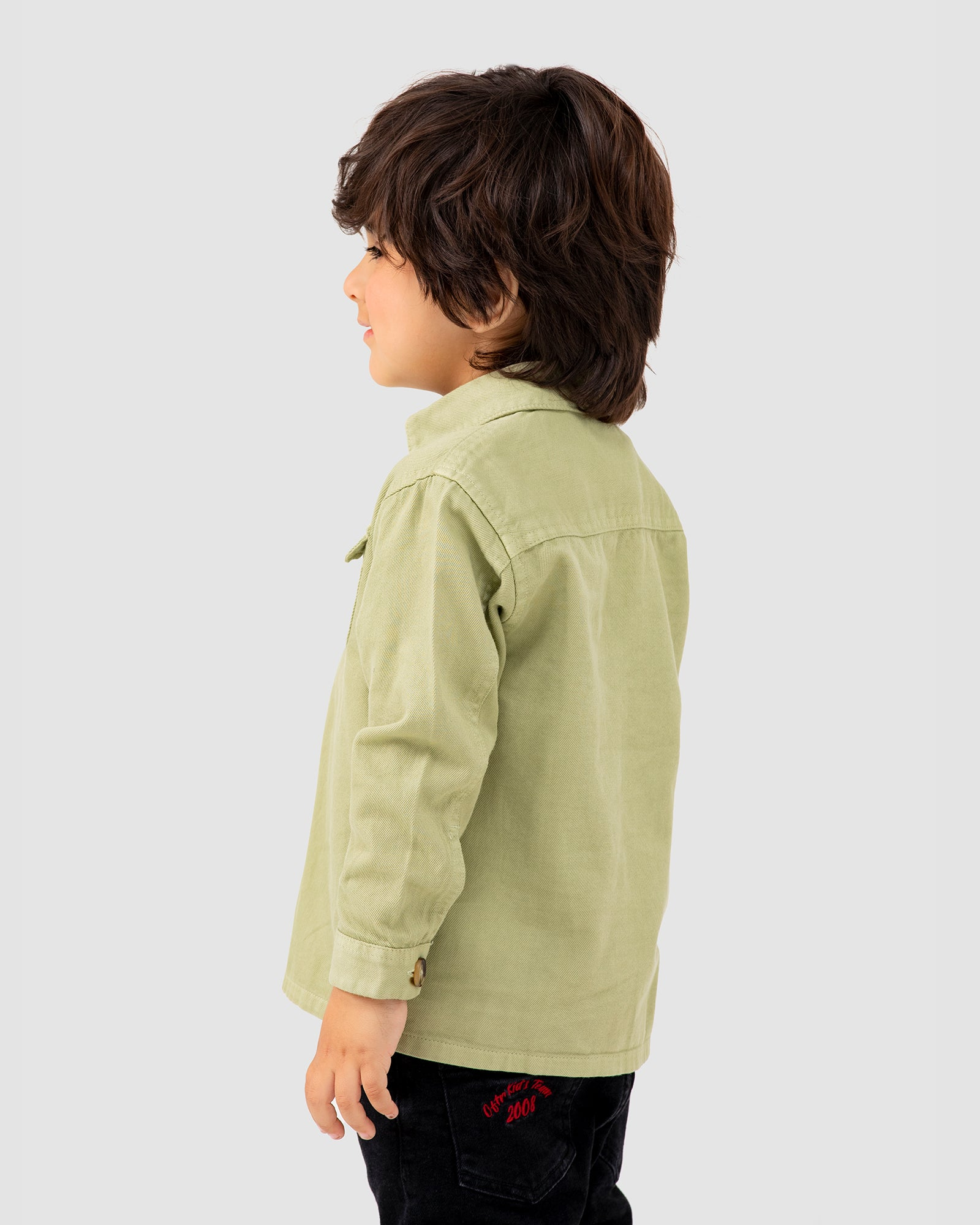 Shacket with Patch Pockets