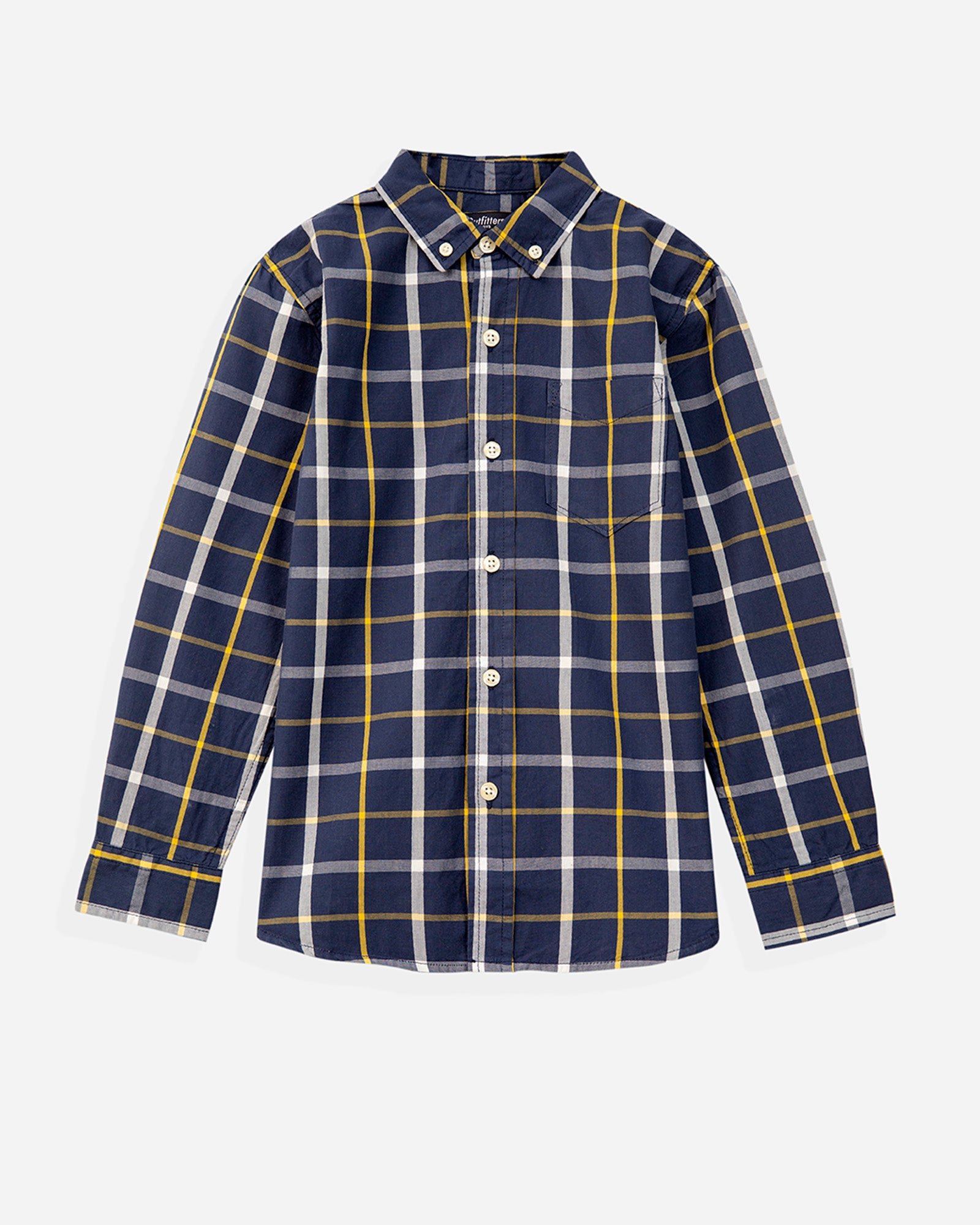 Y/D Checkered Shirt