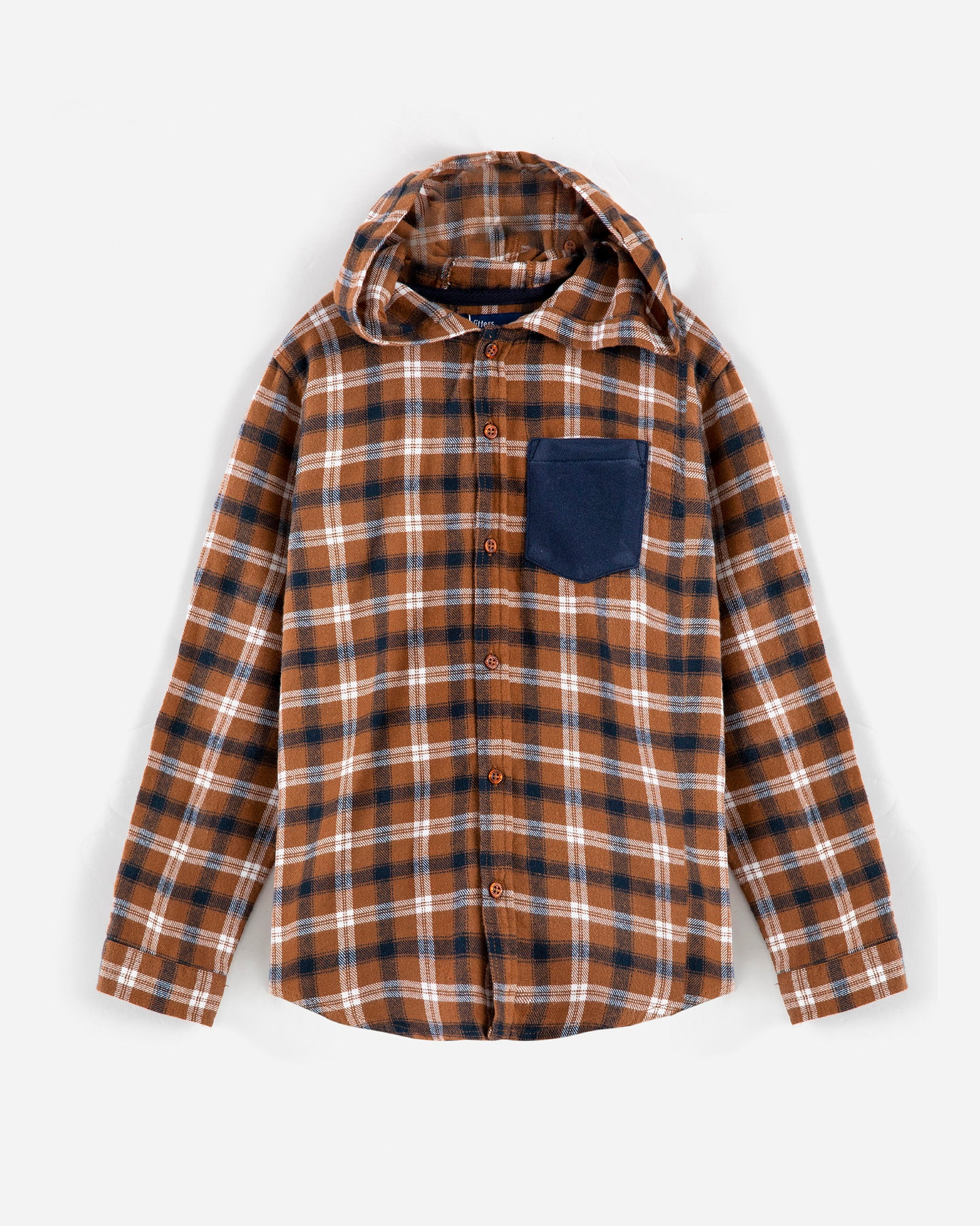 Checkered Hoodie Shirt