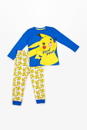 """Pikachu"" graphic shirt and trouser"