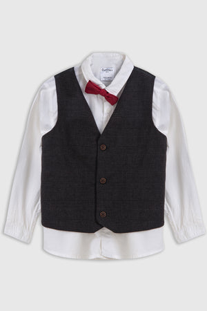 Dress Shirt with waistcoat