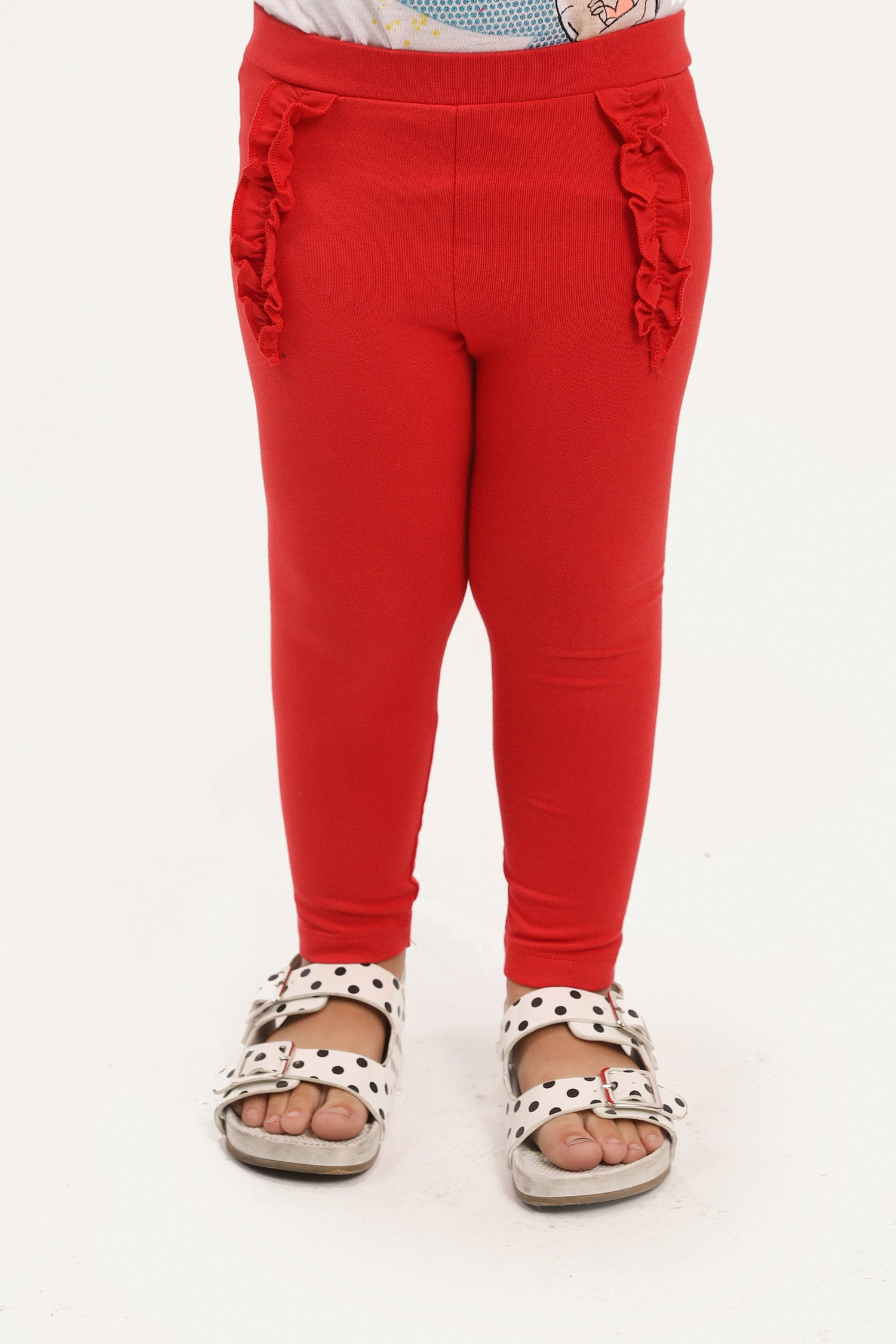 Ruffle Detailed Pants