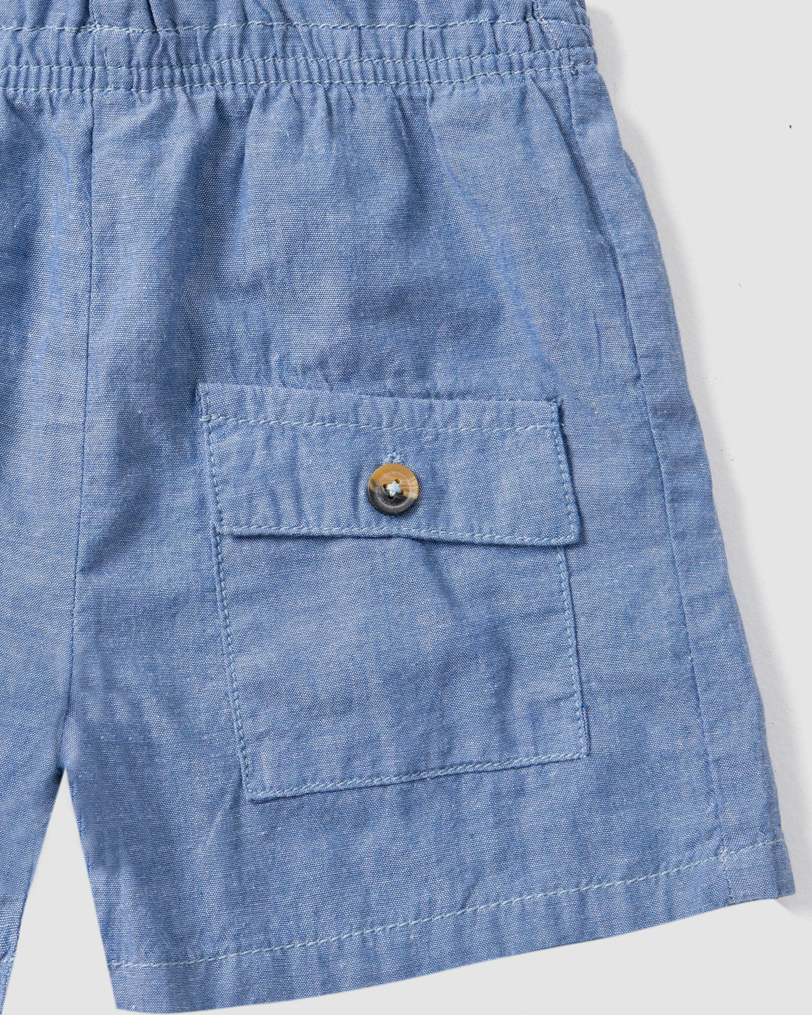 Shorts with Flap Pockets