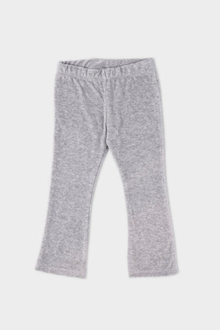 Ribbed Grey Trouser