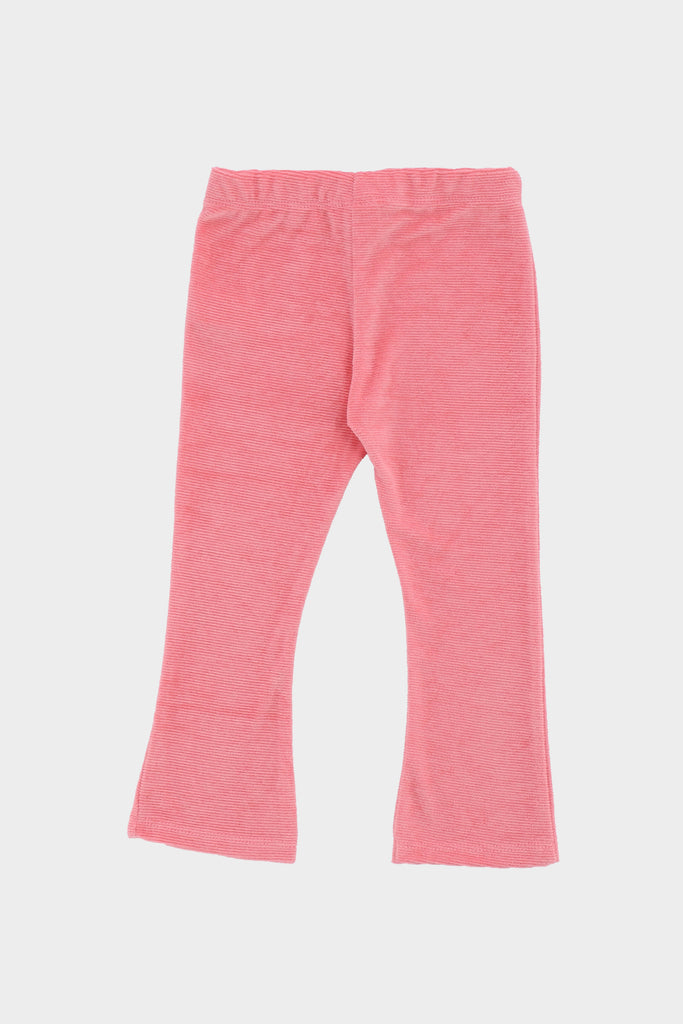 Ribbed Pink Trouser