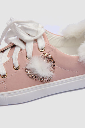 Glitter heart Trainers
