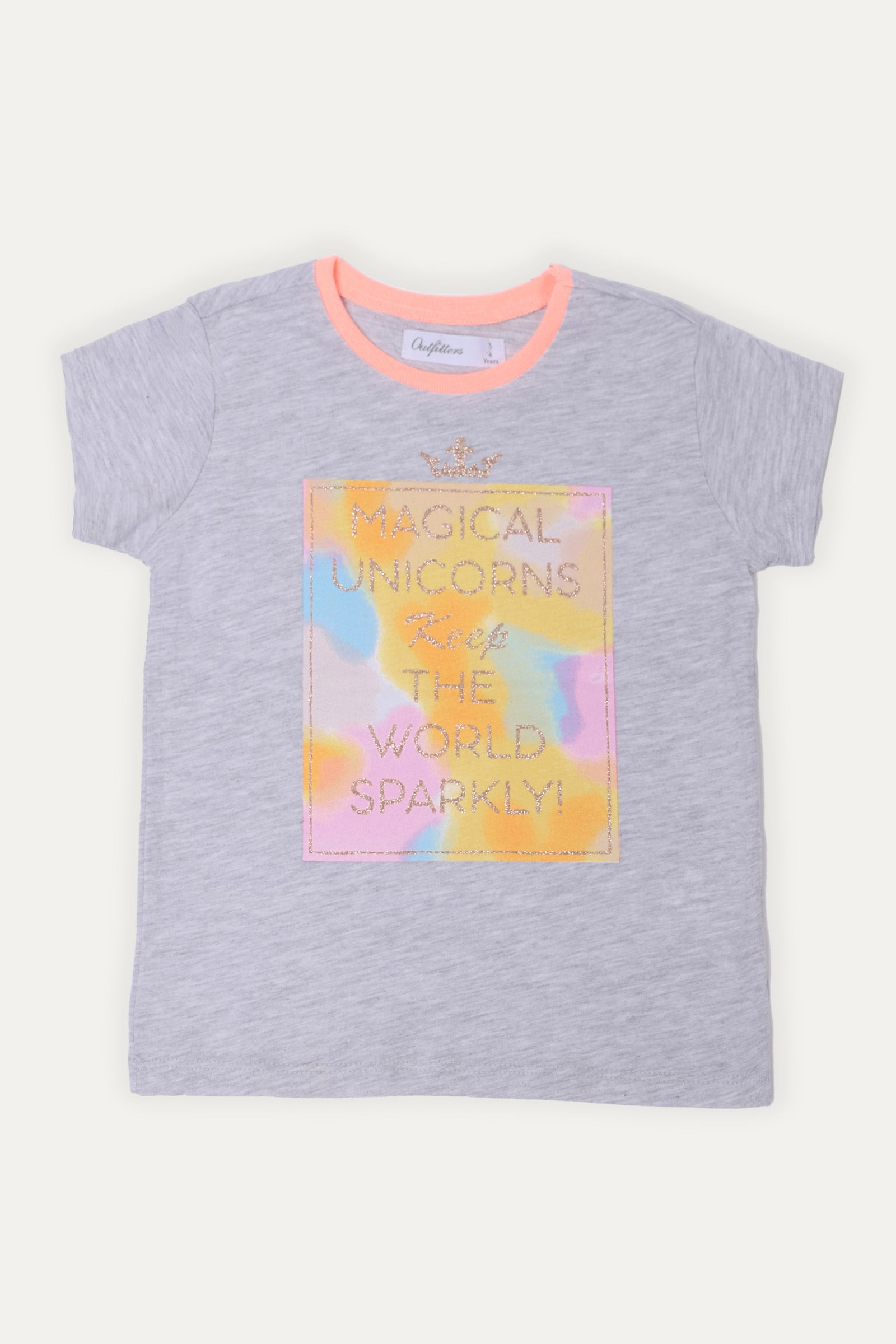 Glittered Statement T-shirt