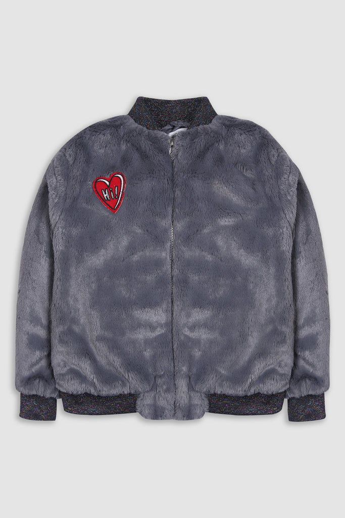 Pull Over Teddy Jacket