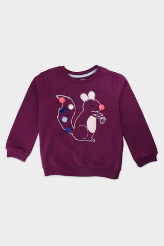 Round neck Bunny rabbit sweatshirt