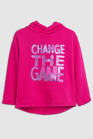 change the game SWEATSHIRT