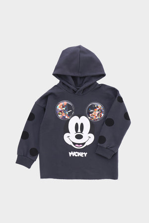 Mickey Mouse Disney Sweatshirt Dark Grey