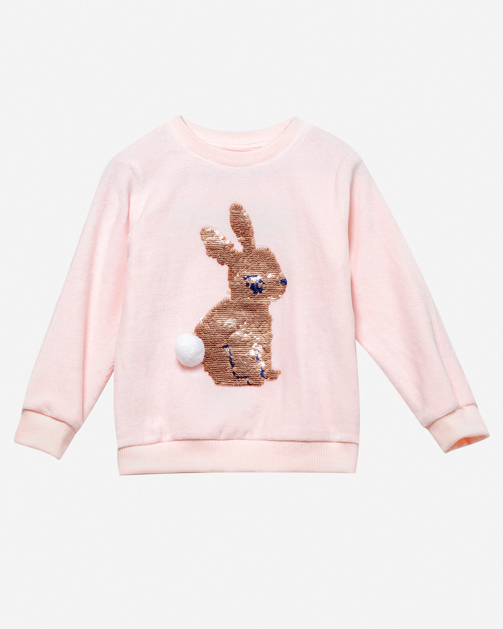 Velour Rabbit Sweatshirt
