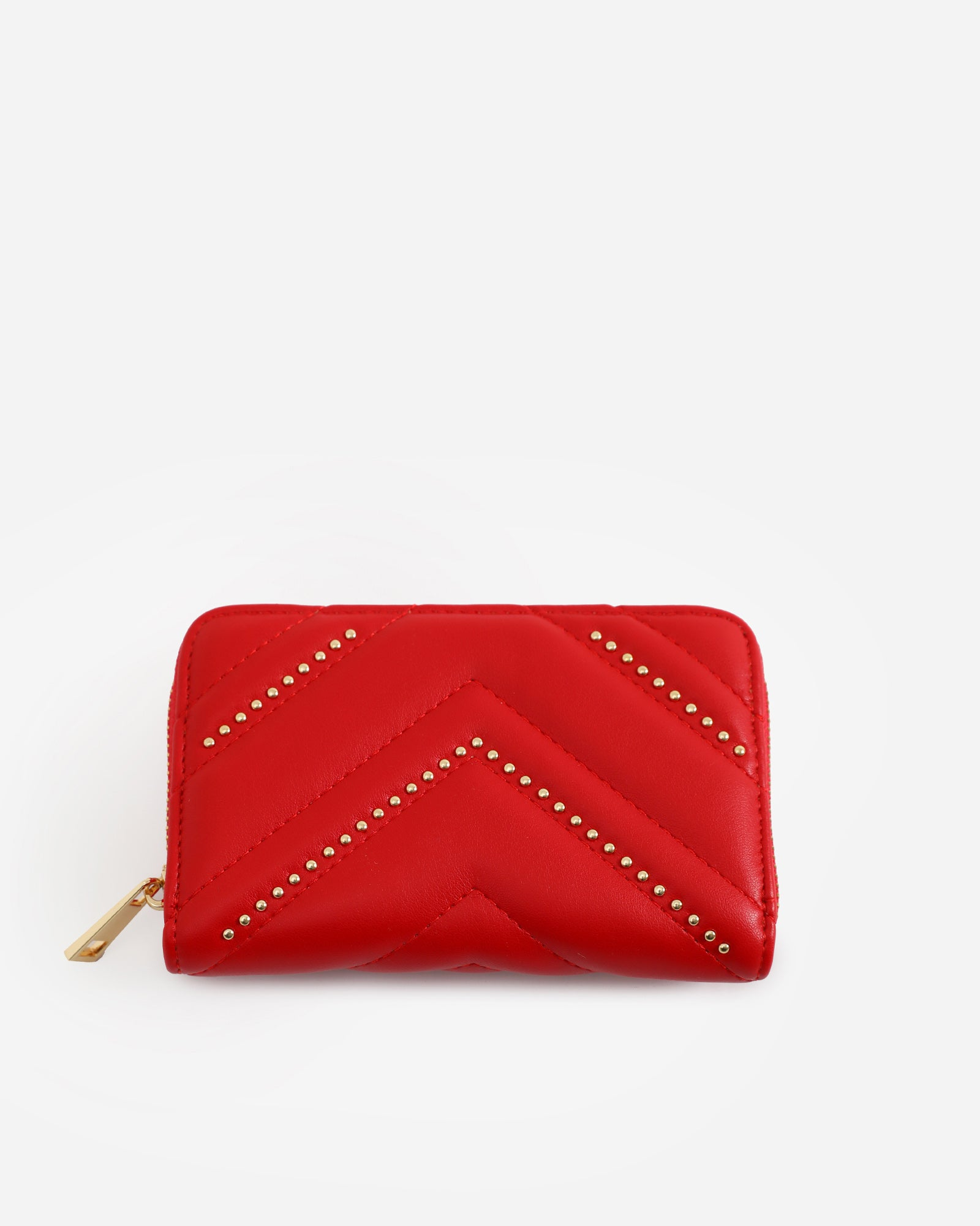 Quilted Embellished Clutch