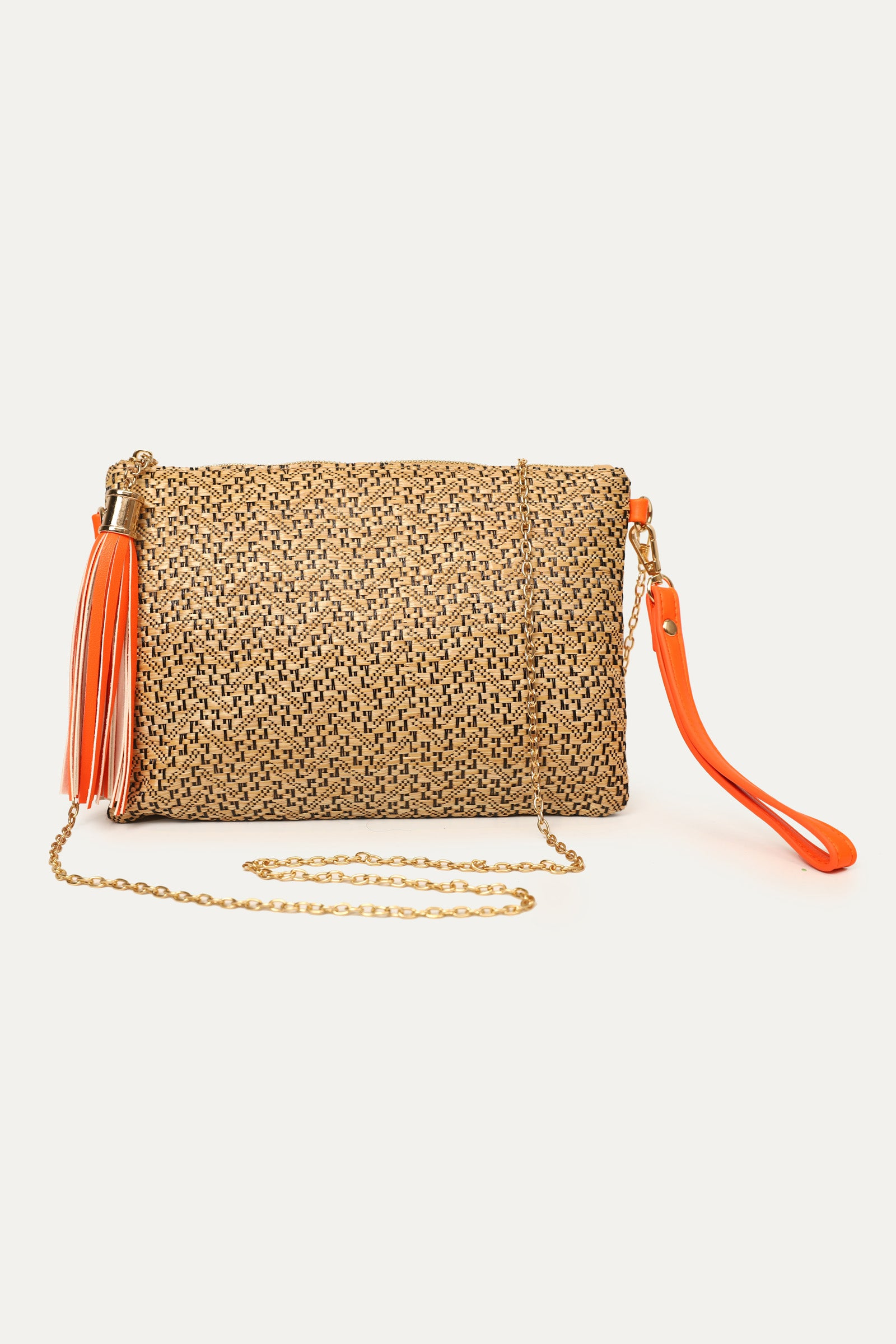 Bucket Weave Sling Bag