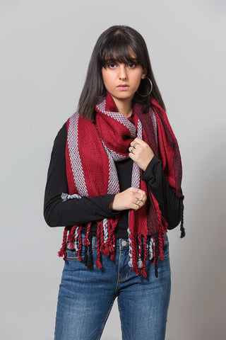 Fringe Edged Scarf