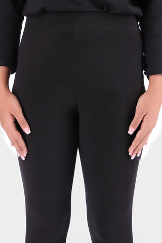 Basic Black High Waisted Tights