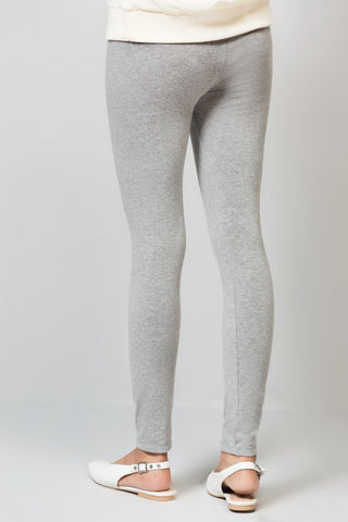 Basic Grey High waisted Tights