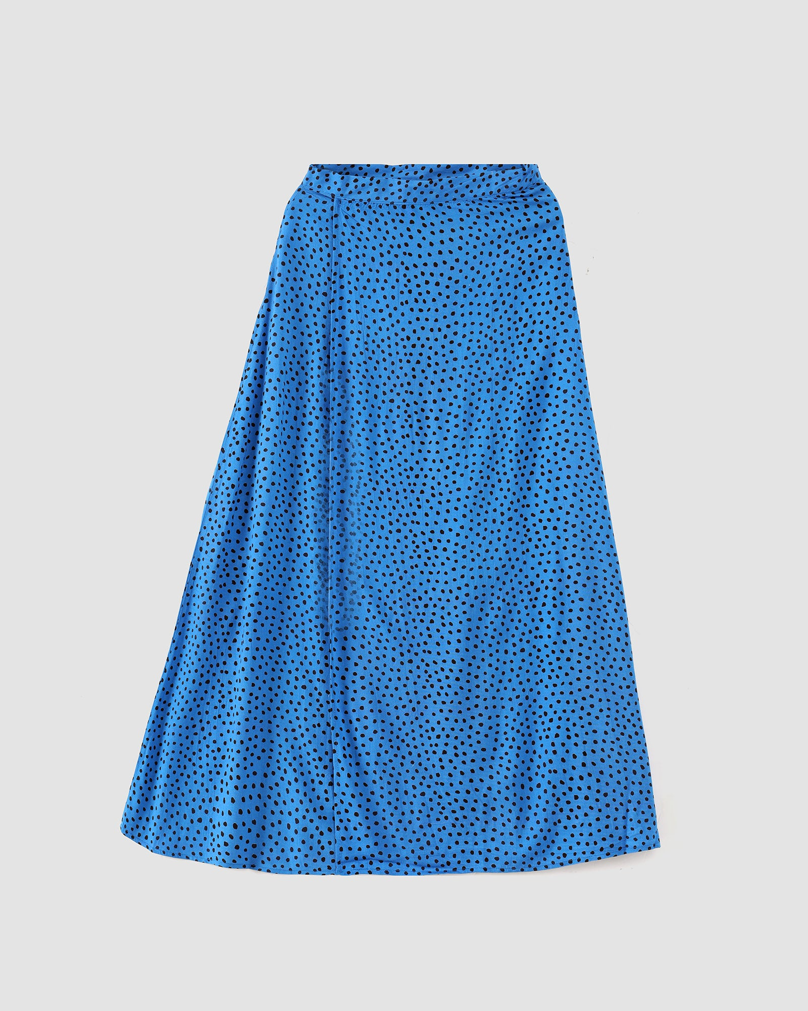 Mutated Polka Dot Flared Skirt