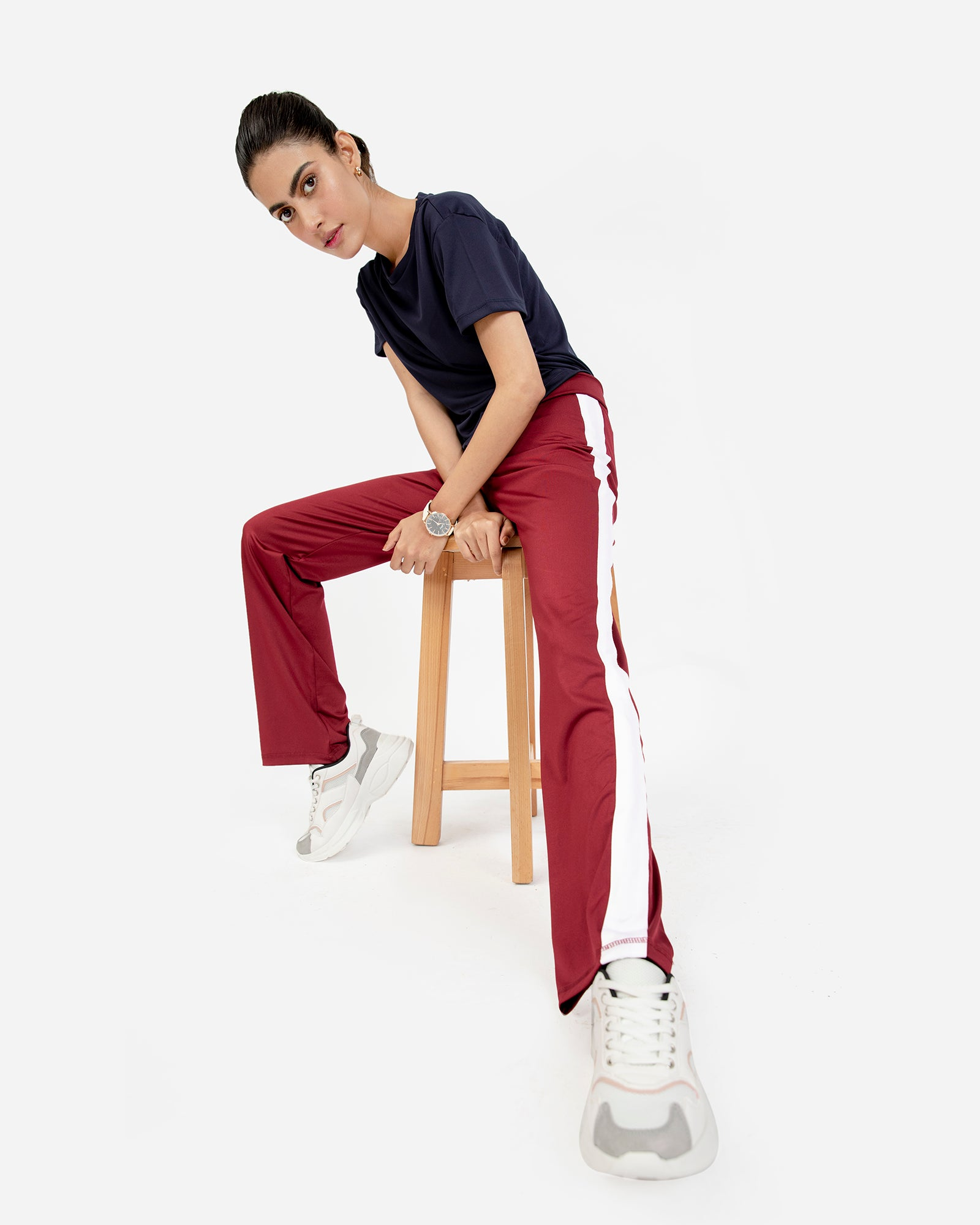 Athleisure Flared Trousers
