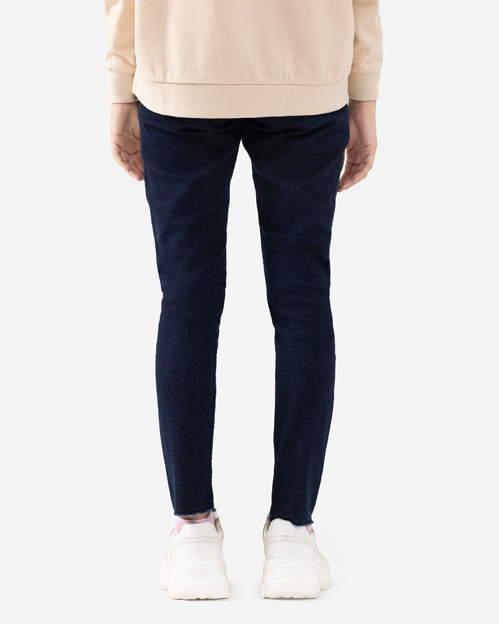 Rinse Wash High Rise Skinny Fit Jeans