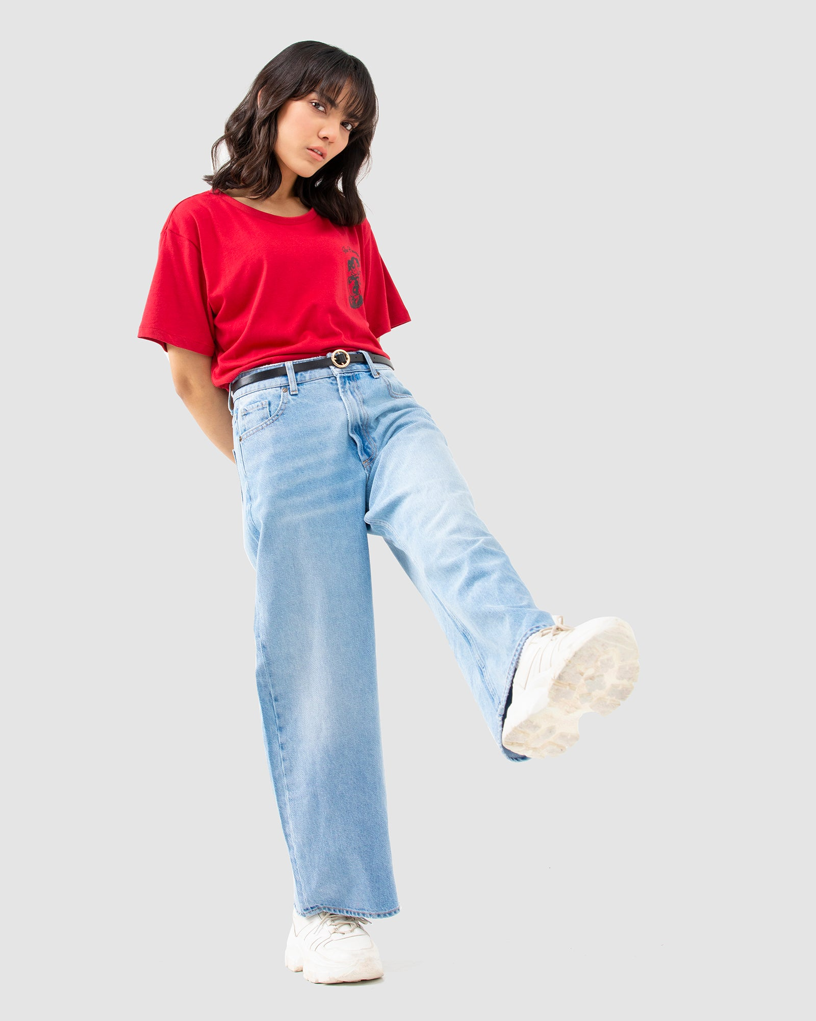 Wide-Legged Jeans