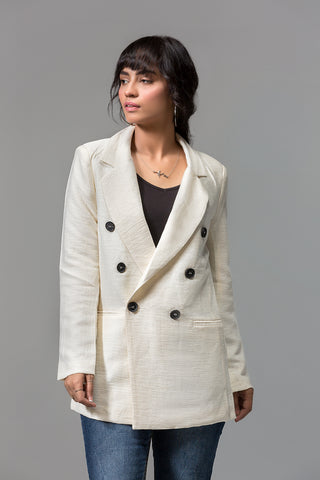 FRONT BUTTONS CLOSURE COAT