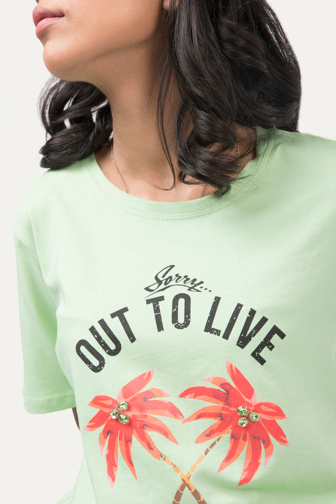 Out to live' Graphic t-shirt