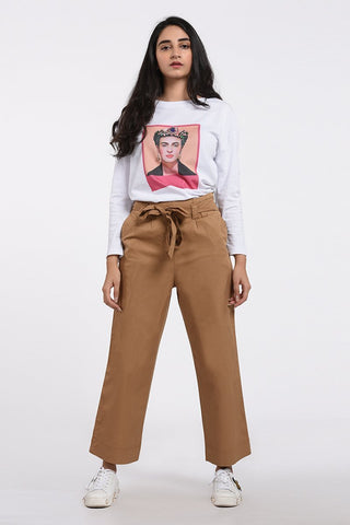 Frida Kahlo Printed T-Shirt