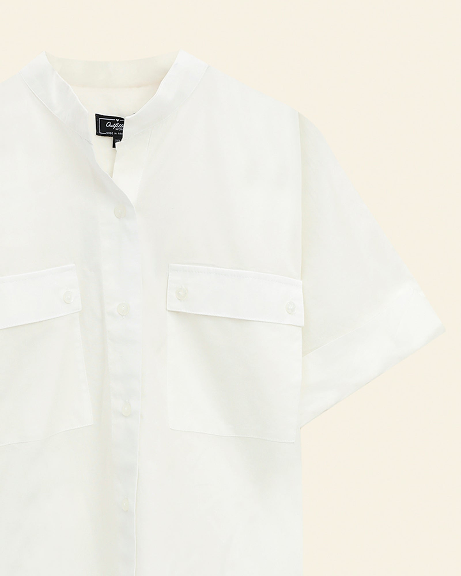 Button Down Patch Pocket Shirt