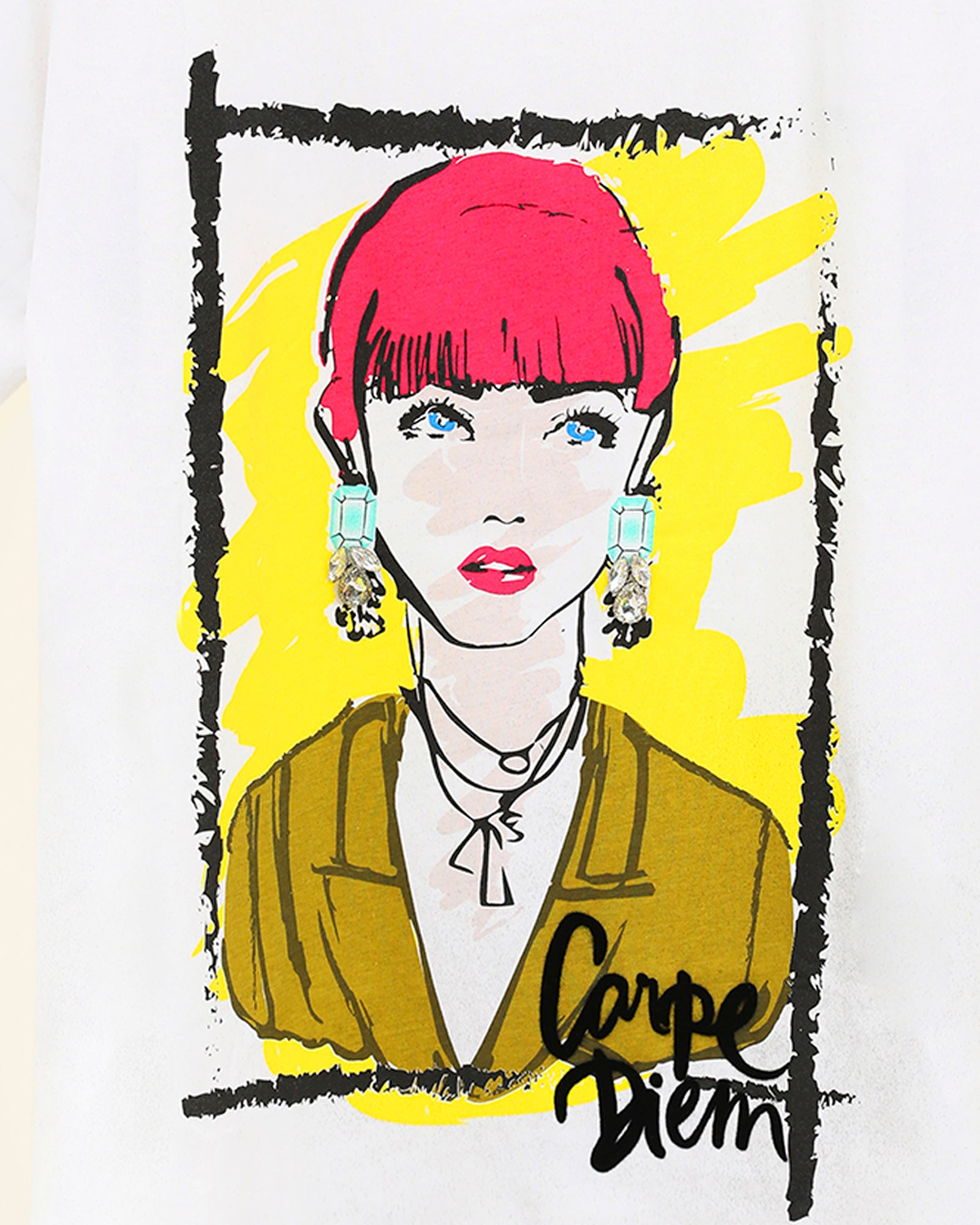 Fashion Illustration Tee