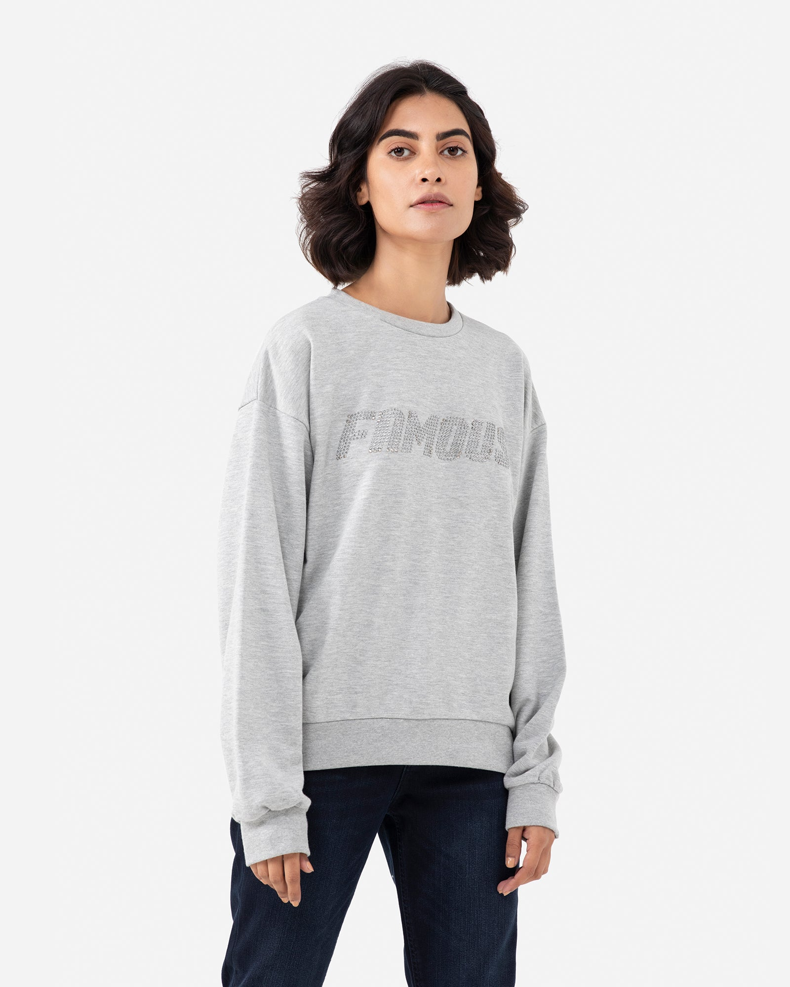 Embellished Graphic Sweatshirt