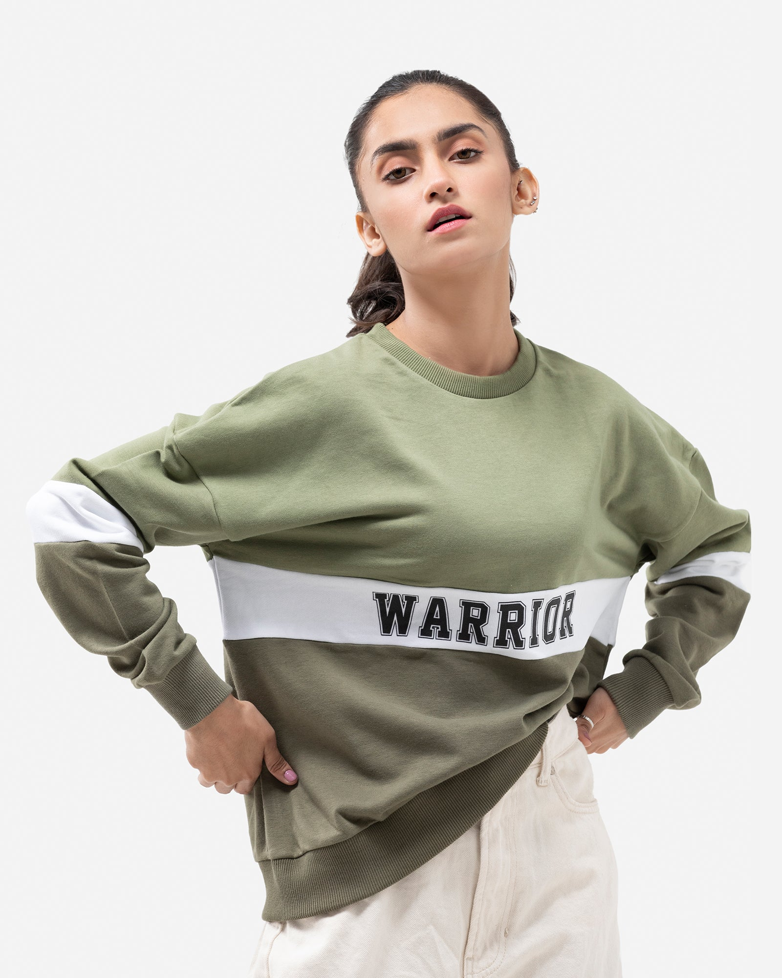 Color Block Warrior Sweatshirt