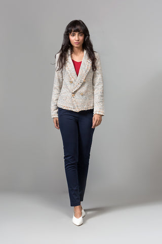 long sleeved blazer