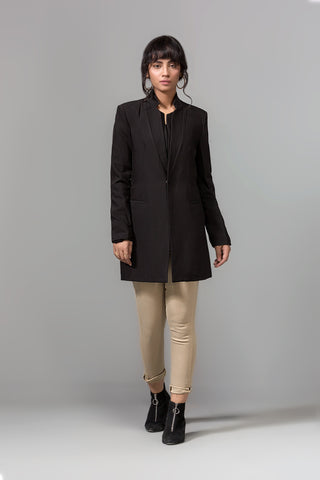 BLACK KNEE COAT