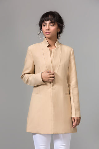 KHAKI knee COAT
